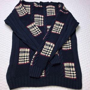 Pringle Sweaters - Vintage Pringle Grandpa Ugly Sweater V-Neck Sz S